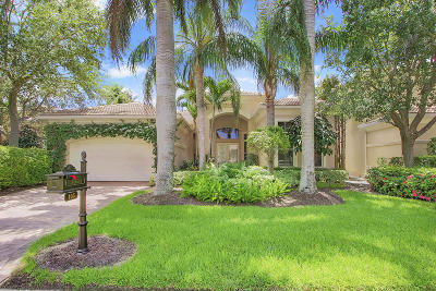 Palm Beach Gardens Single Family Home For Sale: 105 Tranquilla Drive