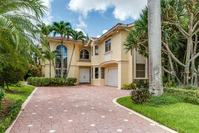 Boca Raton Single Family Home For Sale: 7783 La Corniche Circle