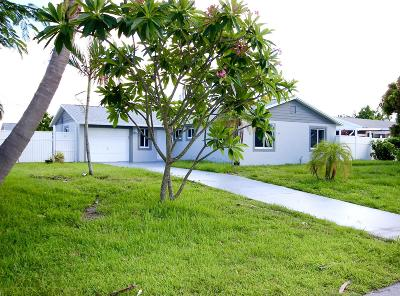 Lake Worth Single Family Home For Sale: 4183 Kivey Drive