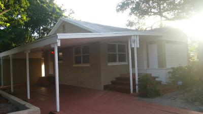 West Palm Beach Single Family Home For Sale: 411 57th Street