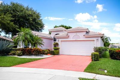 Boynton Beach Single Family Home For Sale: 6203 Seascape Terrace