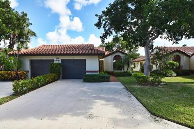 Boynton Beach Single Family Home For Sale: 5911 Autumn Lake Lane #B