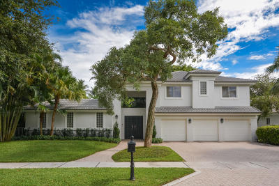 Boca Raton Single Family Home For Sale: 3122 Westminster Drive
