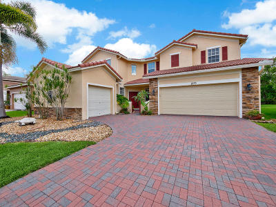 West Palm Beach Single Family Home For Sale: 1479 Newhaven Point Lane