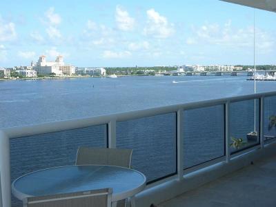 West Palm Beach Condo For Sale: 1617 Flagler Drive #10b