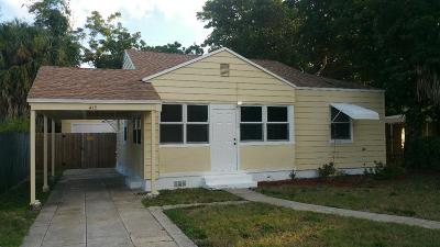 West Palm Beach Single Family Home For Sale: 415 57th Street