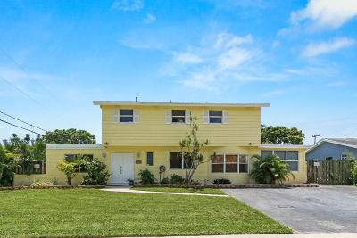 Delray Beach Single Family Home Contingent: 2154 Dorson Way