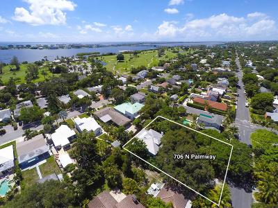 Lake Worth Single Family Home For Sale: 706 Palmway