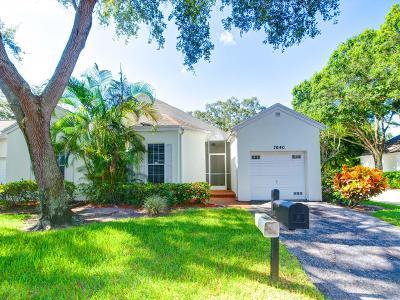 Boynton Beach Single Family Home For Sale: 7640 Forest Green Lane