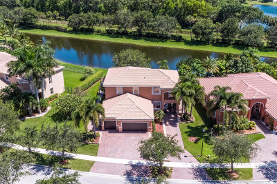 Lake Worth Single Family Home For Sale: 10210 Cypress Lakes Preserve Drive