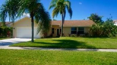 Boca Raton Single Family Home For Sale: 9641 Lancaster Place