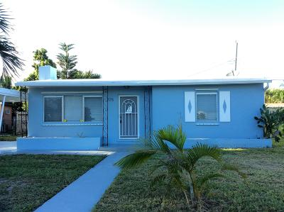 West Palm Beach Single Family Home For Sale: 725 Beech Road