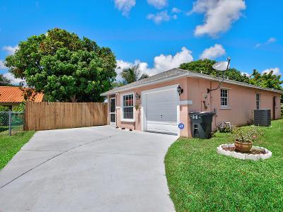 Boynton Beach Single Family Home Contingent: 10353 Boynton Place Circle