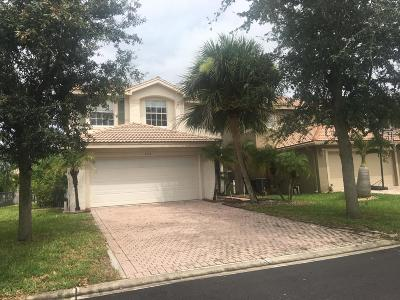 Lake Worth Single Family Home For Sale: 5112 Crescent Moon Drive