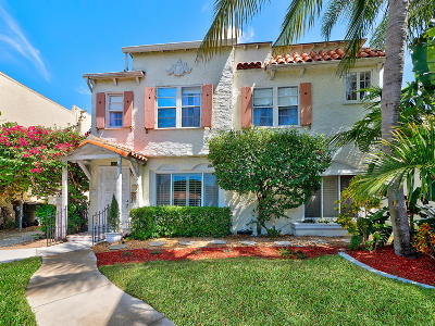 Lake Worth Single Family Home For Sale: 318 Cornell Drive