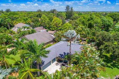 Lake Worth Single Family Home For Sale: 5161 Palm Way