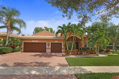 Lake Worth Single Family Home For Sale: 10287 Cypress Lakes Preserve Drive