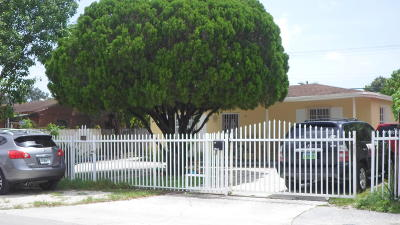 Miami Single Family Home Contingent: 9125 NW 36th Avenue