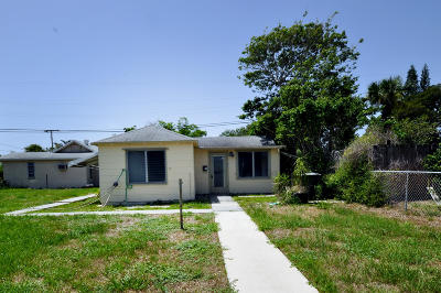 West Palm Beach Single Family Home For Sale: 49 E 25th
