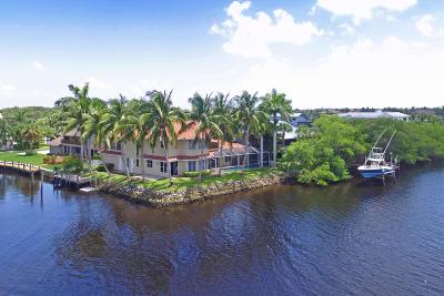 Tequesta Single Family Home For Sale: 9177 SE River Terrace