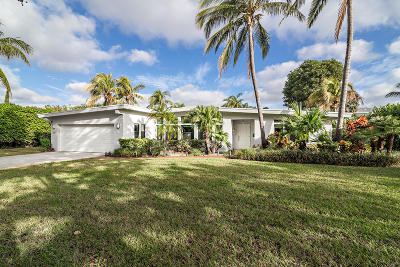 West Palm Beach Single Family Home For Sale: 245 Miramar Way