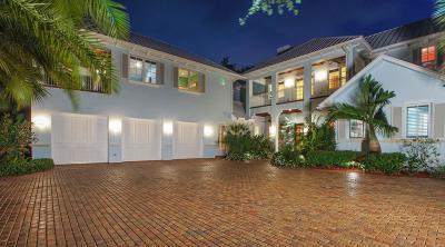 Jupiter Single Family Home For Sale: 240 W Riverside Drive