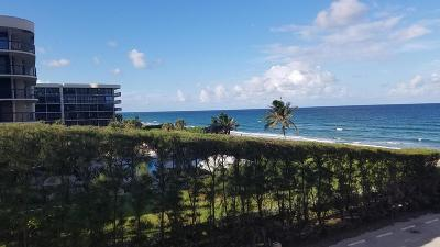 Palm Beach Condo For Sale: 3450 S Ocean Boulevard #304