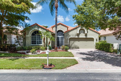 Boynton Beach Single Family Home For Sale: 10129 Diamond Lake Drive