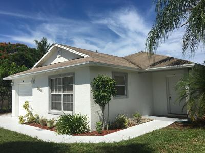 Boynton Beach Single Family Home For Sale: 10040 Boynton Place Circle