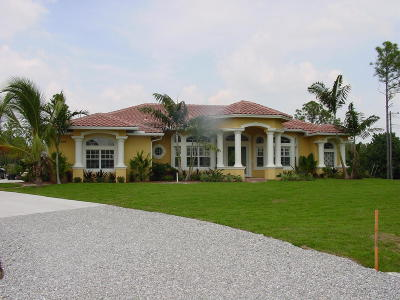 West Palm Beach Single Family Home Contingent: 12249 82 Lane