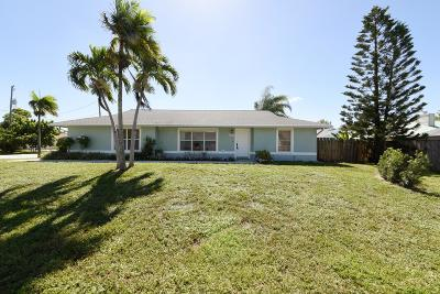 Jupiter Single Family Home For Sale: 6207 Lucerne Street