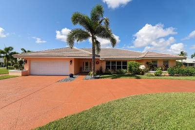 Boynton Beach Single Family Home For Sale: 4787 Oak Circle