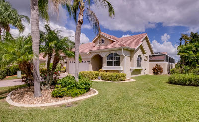 St Lucie County Single Family Home For Sale: 738 SW Aruba Bay