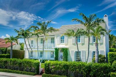 Palm Beach Single Family Home For Sale: 167 Seaview Avenue