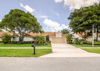 Boca Raton Single Family Home For Sale: 11826 Island Lakes Lane