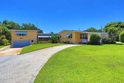 Lake Worth Single Family Home For Sale: 1810 High Ridge Road