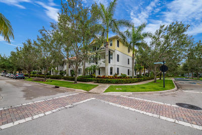 Jupiter Townhouse For Sale: 3336 W Community Drive