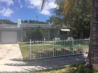West Palm Beach Single Family Home For Sale: 301 Lytle Street