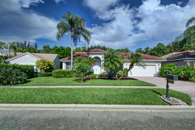 Boynton Beach Single Family Home For Sale: 7832 Bridlington Drive