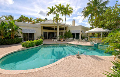 Palm Beach Gardens Single Family Home For Sale: 1116 Crystal Drive