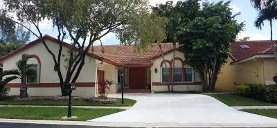 Boca Raton Single Family Home For Sale: 8728 Eagle Run Drive