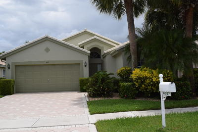 Boynton Beach Single Family Home For Sale: 6657 Sun River Road