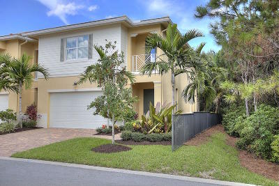 Palm Beach Gardens Townhouse For Sale: 1012 Piccadilly Street