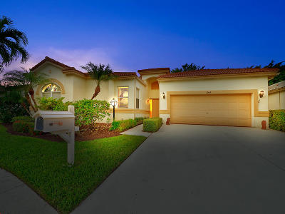 Lake Worth Single Family Home For Sale: 3904 Summer Chase Court