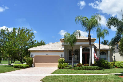 Royal Palm Beach Single Family Home For Sale: 2142 Bellcrest Circle
