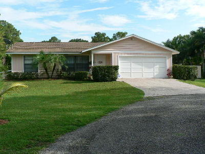 West Palm Beach Single Family Home For Sale: 11580 49th Street