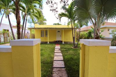 West Palm Beach Single Family Home For Sale: 640 34th Street
