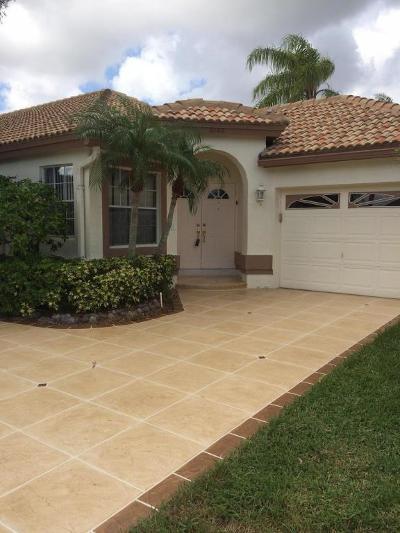 Boynton Beach Single Family Home For Sale: 6126 Bay Isles Drive