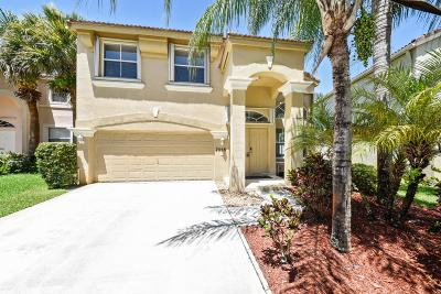 Lake Worth Single Family Home For Sale: 7558 Oak Grove Circle