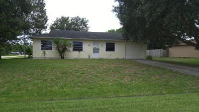 Port Saint Lucie Single Family Home For Sale: 1102 SW Arc Court